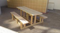 6 Seater Picnic Bench Set