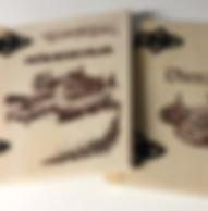 Puukantinen mökkikirja - puukantinen vieraskirja