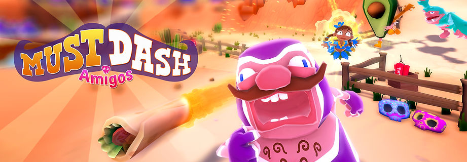 Must Dash Amigos | Multiplayer Battle Racing Indie Gam