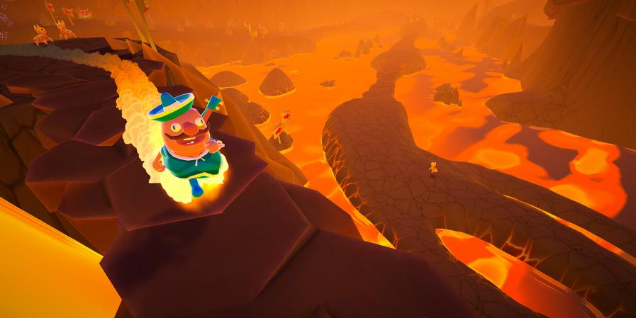 Feeling Hot inside a Volcano