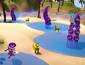 Must Dash Amigos - Battle Arena with a Kraken