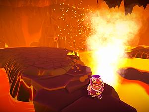 Must Dash Amigos - Racing through a Volcano