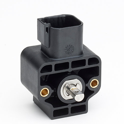 GRA Hall-effect single-turn rotary sensor with shaft