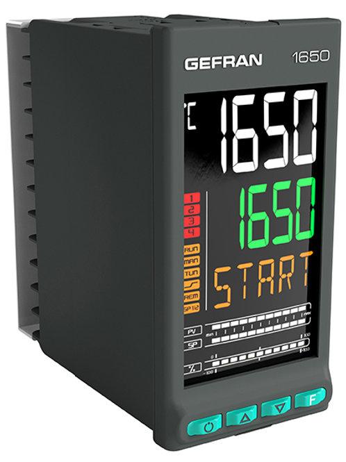 1650 Double loop PID Controller, 1/8 DIN