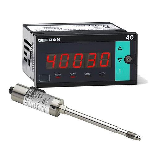 W7 Diathermic Oil FDA - Pressure monitoring set (1/8 DIN)