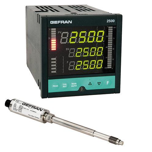 W0 Diatherimic Oil FDA - Pressure control set (1/4 DIN)