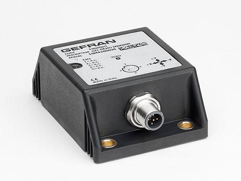 GIT Top single/dual axis inclinometer (XY/360°)