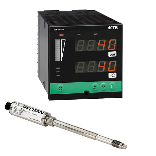 W8 Diathermic Oil FDA - Pressure monitoring set (1/4 DIN)