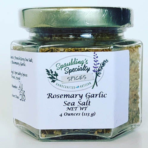 Rosemary Garlic Sea Salt