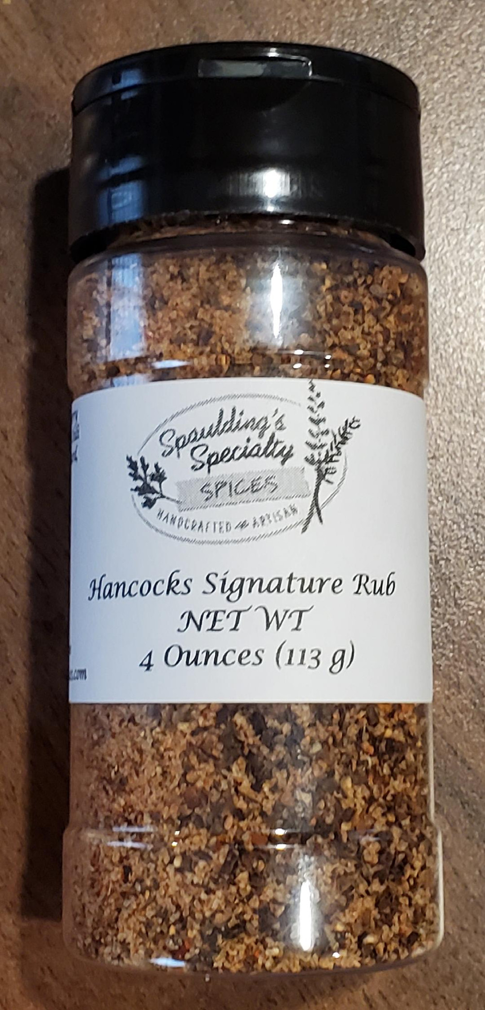 Hancock's Signature Rub