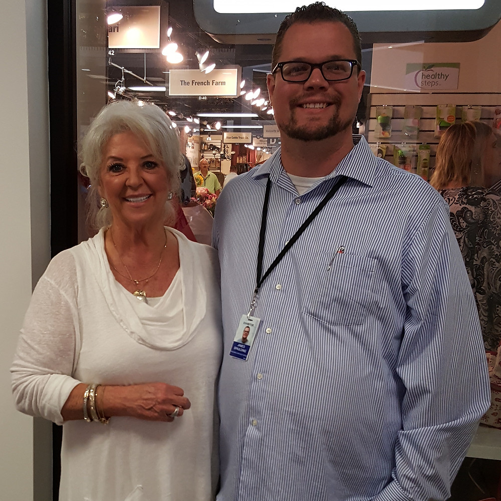 Paula Deen and James Spaulding