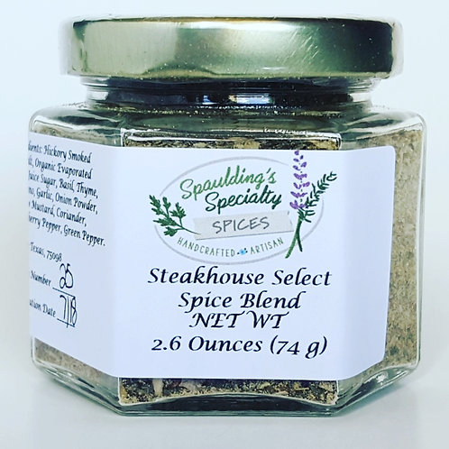 Steakhouse Select Spice Blend