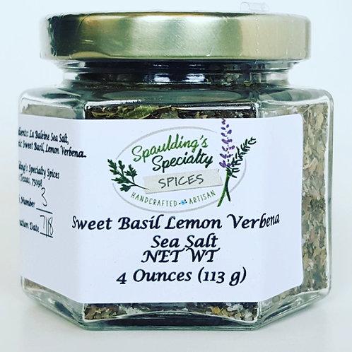 Sweet Basil Lemon Verbena Sea Salt