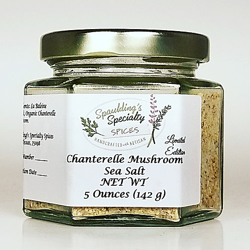 Chanterelle Mushroom Sea Salt
