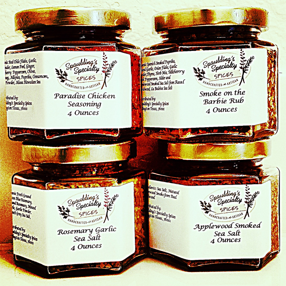 4 Pack Spaulding's Specialty Spices