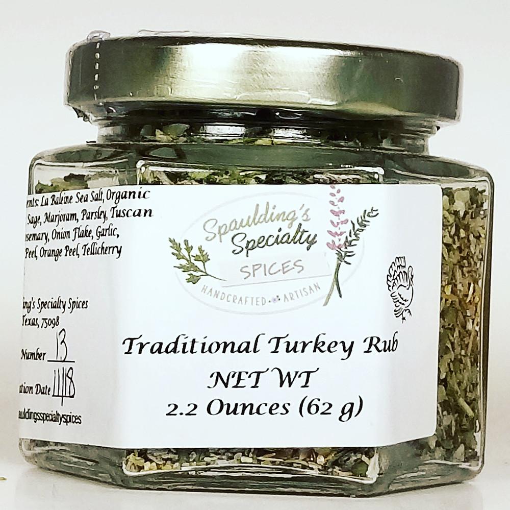 Traditional Turkey Rub