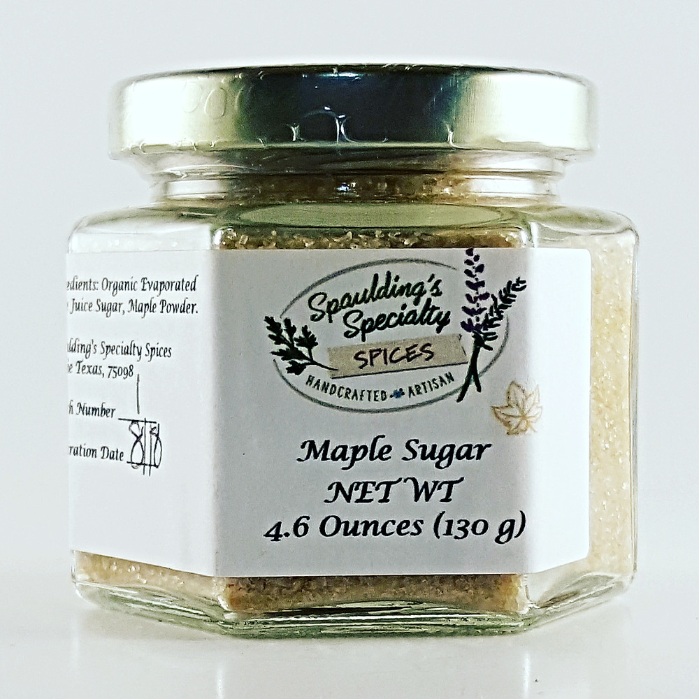 Maple Sugar Spaulding's Specialty Spices