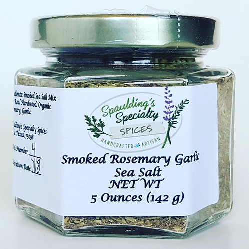 Smoked Rosemary Garlic Sea Salt