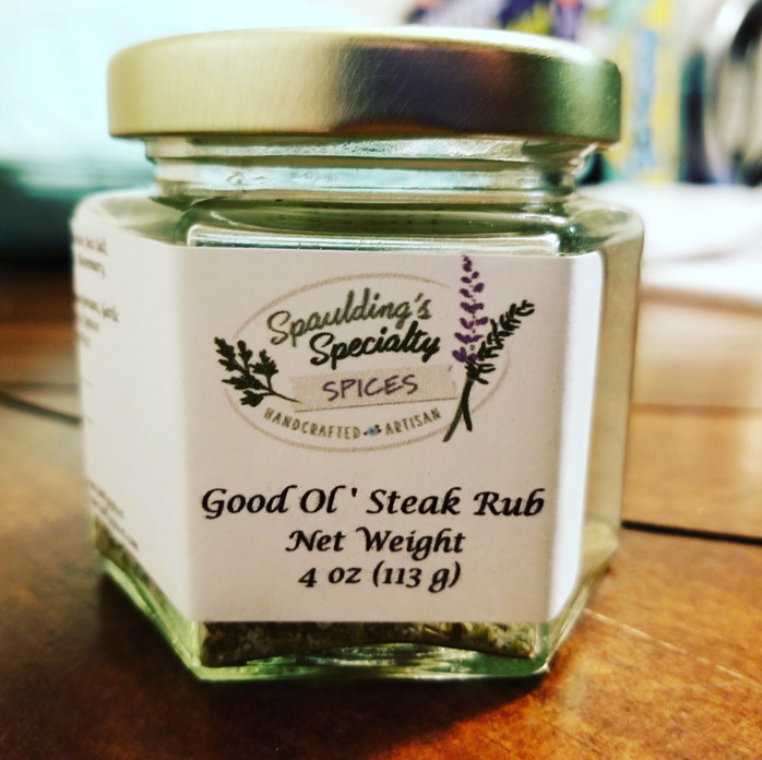 Good Ol' Steak Seasoning- The next must have blend for everything!
