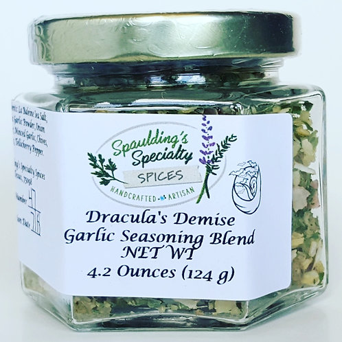 Dracula's Demise Garlic Seasoning Blend