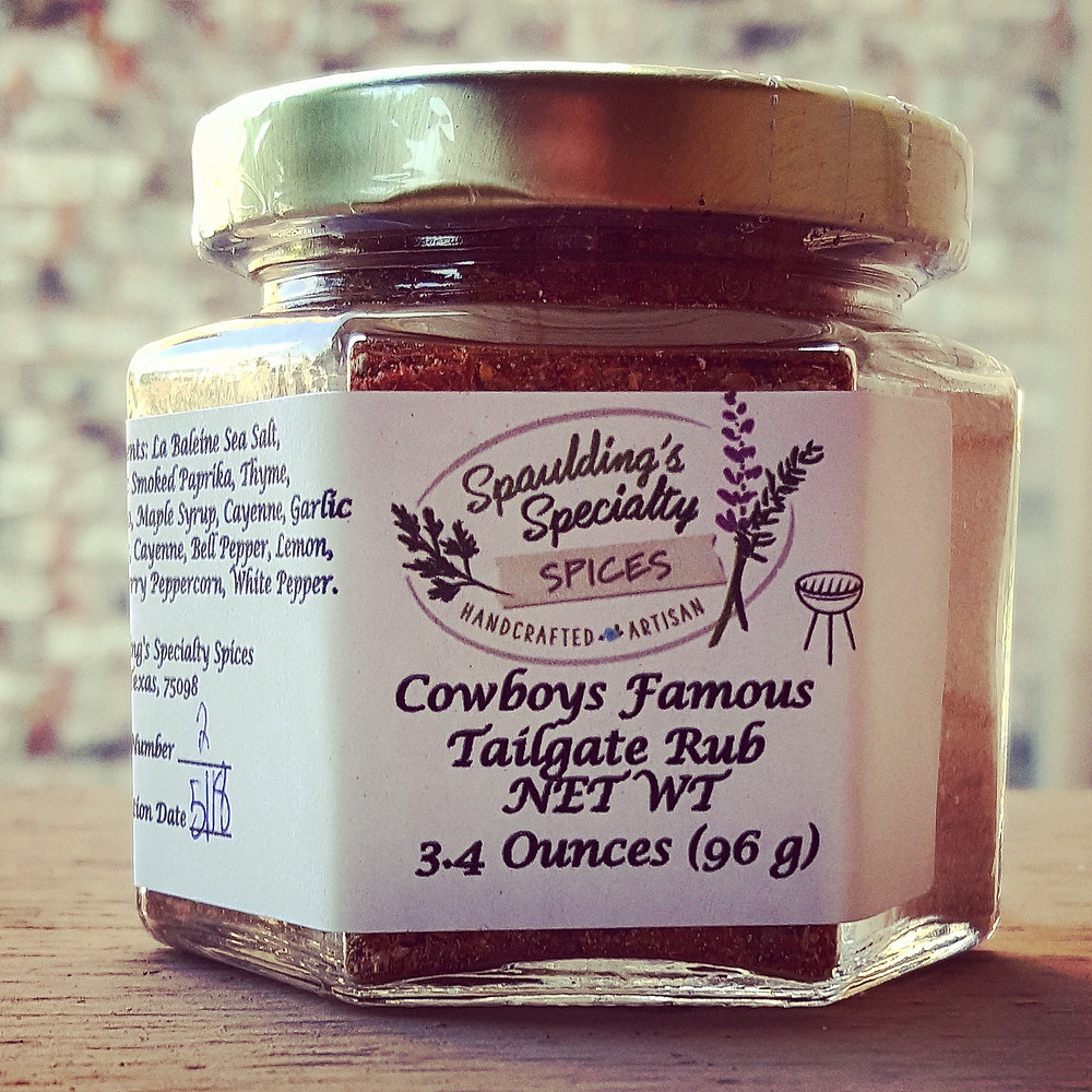 Spaulding's Specialty Spices, BBQ, Cowboys