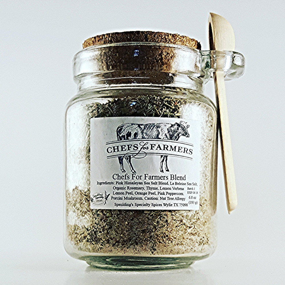 8oz Glass Cork Top Spoon Jar