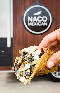 taco trail huitlacoche taco