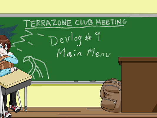TerraZone: Shoot for the Stars Devlog 9: Main Menu