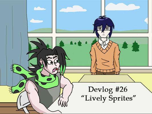 Shoot for the Stars Devlog 26: Lively Sprites