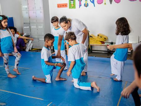 A capoeira deve ser uma brincadeira para as crianças