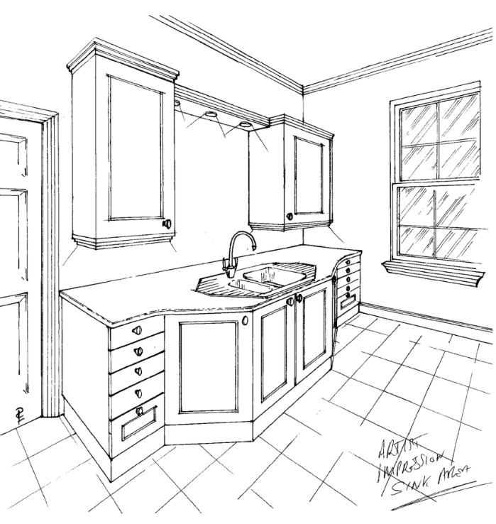 Kitchen detail Artist Impression