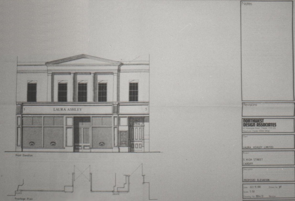 Shop Front Elevation