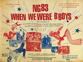 NG83 When We Were B Boys - Breakdancing - Nottingham - Rock City - Rick Smith Audio - Audio Post Production - Nottingham & London - Sound designer, sound mixer, audio mixing, dialogue editing