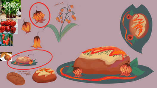 Curry Bun + Flower Chili Concepts