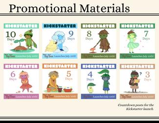 Promotional Illustrations