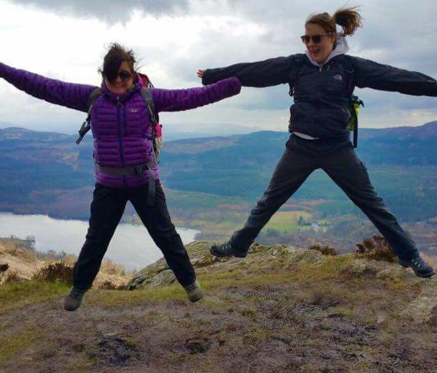 Steph and i on Ben A'an