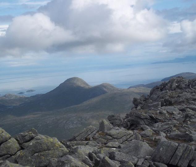 A'an Clisham isle of Harris (Corbett)