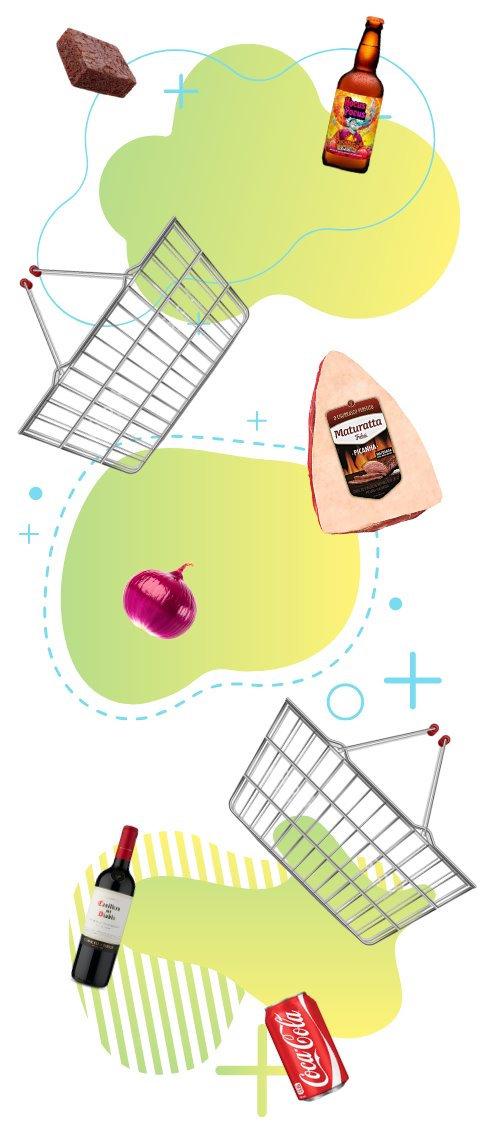 Produtos de micromarket condomínio residencial