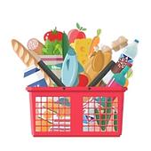 cesta de loja de conveniência