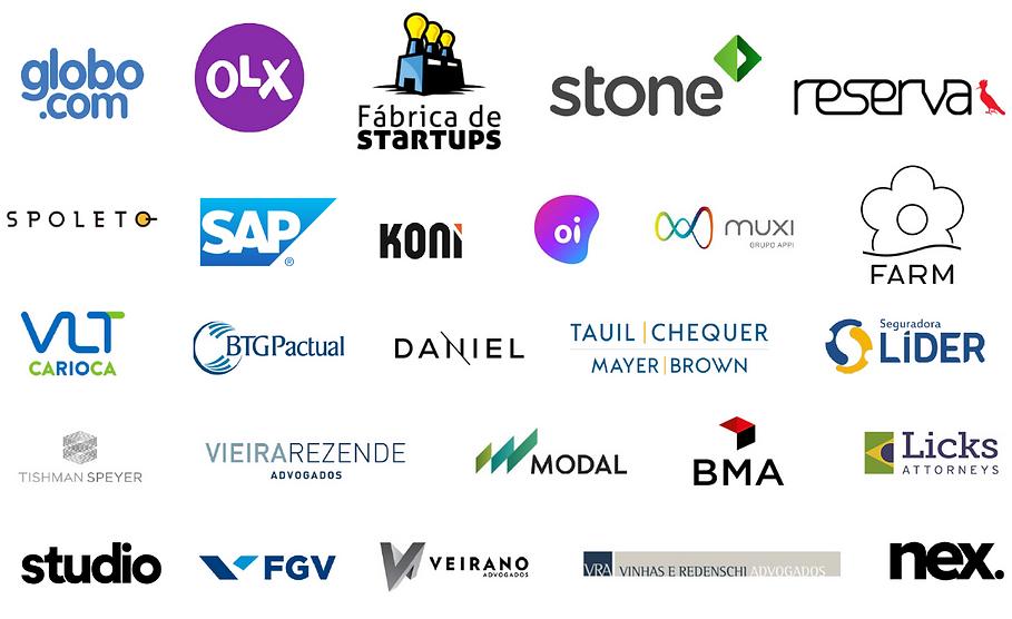 40 empresas que são clientes da Roda
