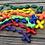Thumbnail: Single-Decade Cord Chaplet (Multi-Colors)