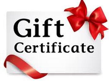 Retreat Gift Certificate