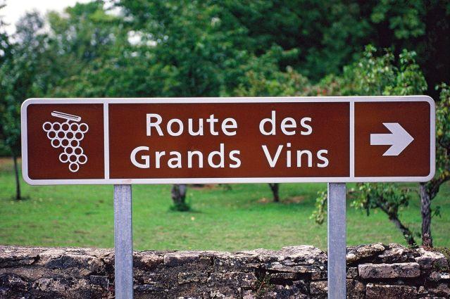 route des grands vins
