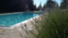 piscine @ Chambres d'hôtes le meflatot