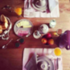 ontbijt chambres d'hôtes le meflatot