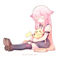 My OC & Pikachu