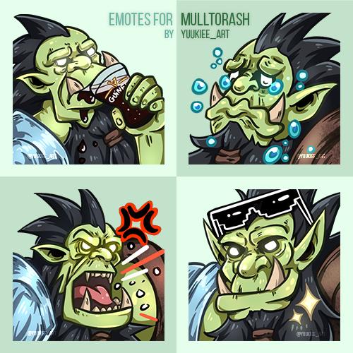 Emotes for MULLTORASH