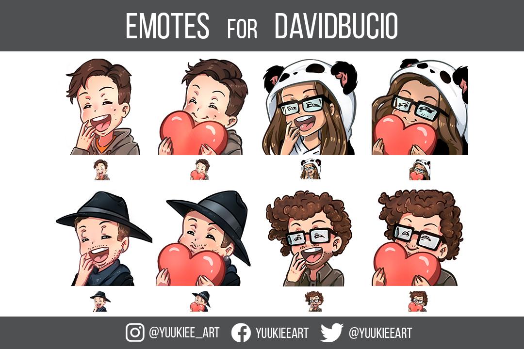 Emotes for Davidbucio - Twitch