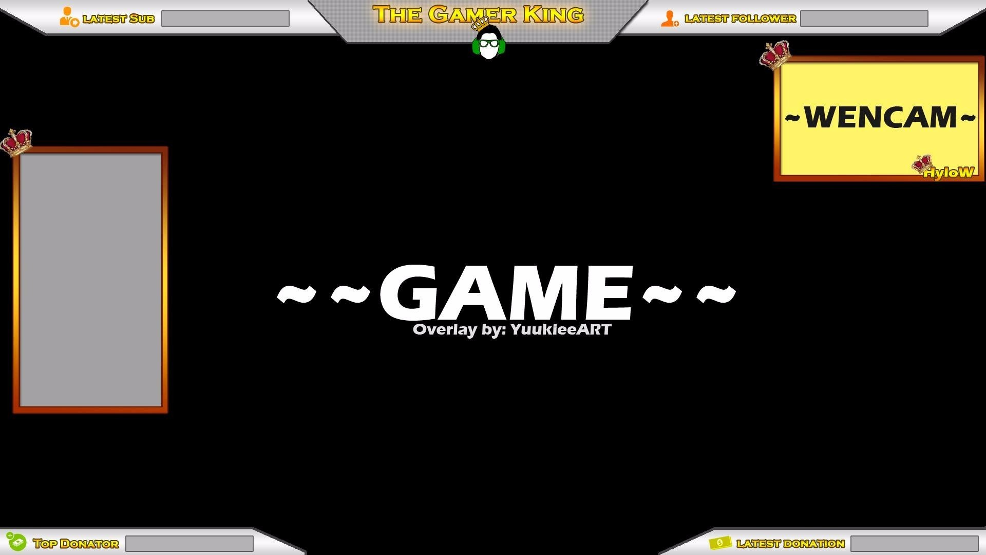 Twitch Stream Overlay.