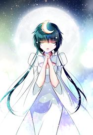 Moon Goddess - Original Character
